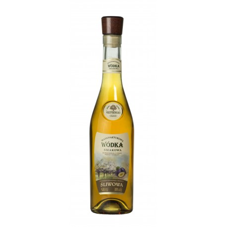 Manufakturowa Wódka - Śliwowa 0,5l 38%