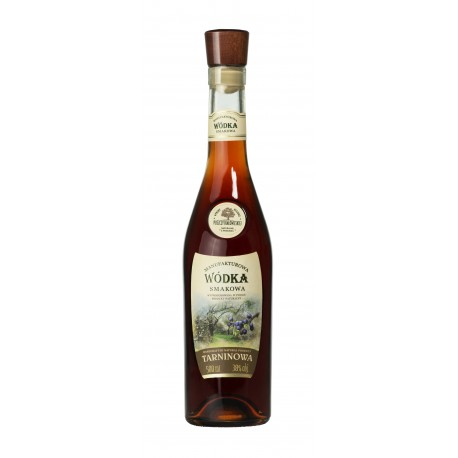 Manufakturowa Wódka - Tarninowa 0,5l 38%
