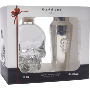 Wódka CRYSTAL HEAD + SHAKER