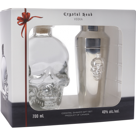 CRYSTAL HEAD VODKA + SHAKER