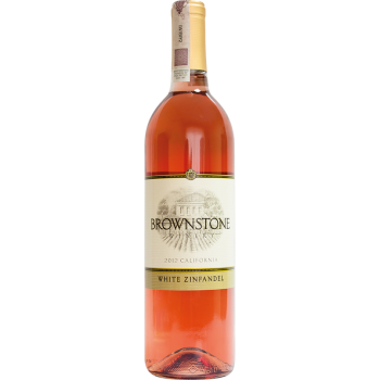 BROWNSTONE WHITE ZINFANDEL 2015