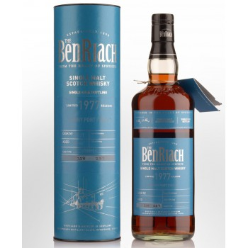 Benriach 37 Year Old 1977 (cask 7114) 48,3%