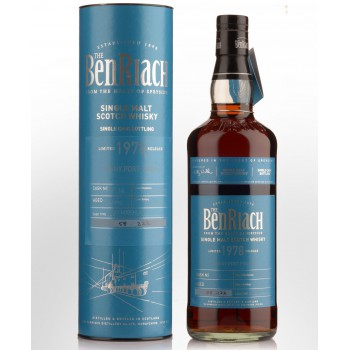 BENRIACH 1978 SINGLE CASK 51,1% 0,7 L