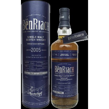 Benriach  2005 (cask 1043) 55,6%