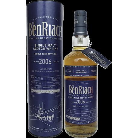 Benriach 2006 (cask 4156) 54,5%