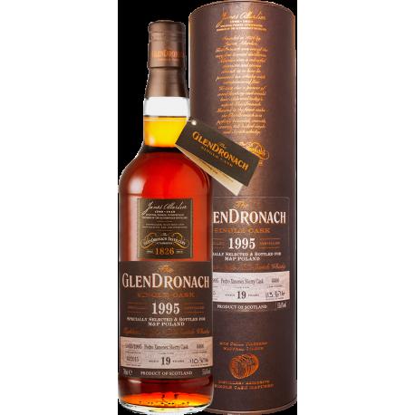 GLENDRONACH 1995 0,7L CASK 3047 48,6% 20yo