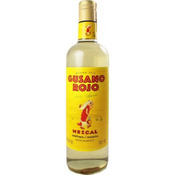 Gusano Rojo Mezcal z robakiem 0,7l