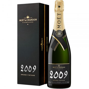 Moet & Chandon Grand Vintage 2009 w kartoniku