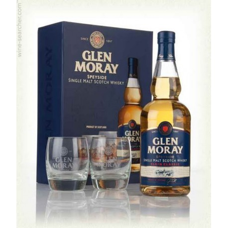 Glen Moray Elgin Classic 0,7l + 2 Szklanki