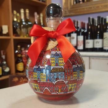 Wódka świąteczna bombka czerwona 0,5l 40%