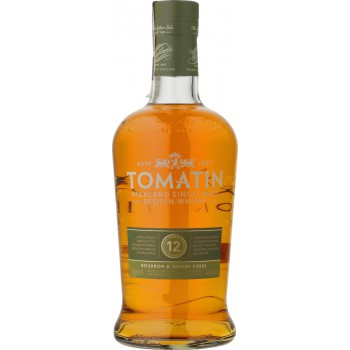 Tomatin 12YO Single Malt Scotch Whisky