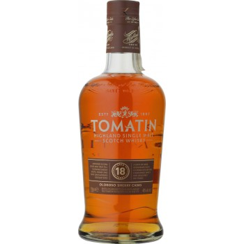 Tomatin 18YO Single Malt Scotch Whisky