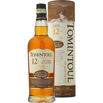 Tomintoul 12YO Oloroso Sherry Single Malt Scotch Whisky