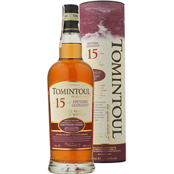 Tomintoul 15YO Portwood Single Malt Scotch Whisky