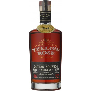 Yellow Rose Outlaw Bourbon