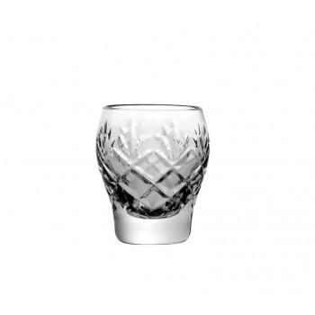 Kieliszki do wódki kryształowe 6 sztuk