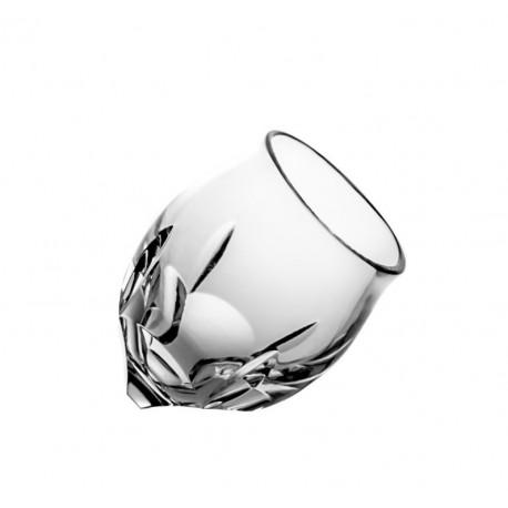 Kieliszki do wódki kulawka kryształowe 6 sztuk