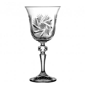 Kieliszki kryształowe do wina 6 sztuk