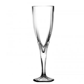 Kieliszki do szampana kryształowe 6 sztuk