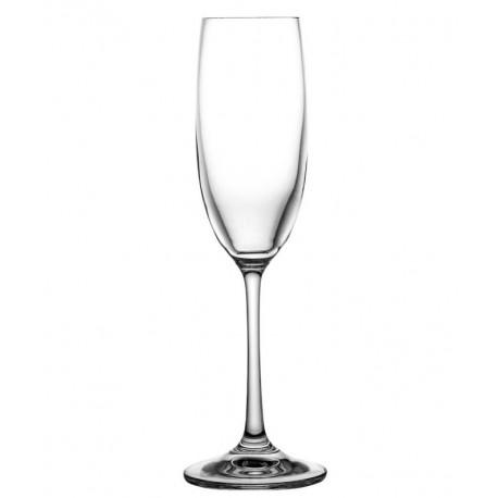 Kieliszki kryształowe do szampana 6 sztuk