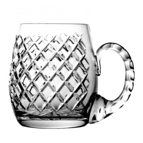 Kufel pokal kryształowy do piwa Caro