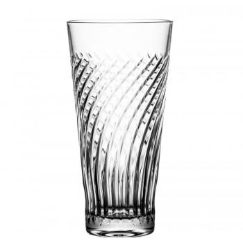 Szklanki kryształowe long drink linea kryształ