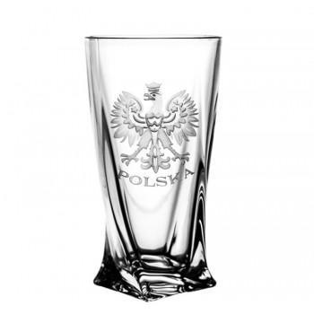 Szklanki grawerowane long drink orzeł