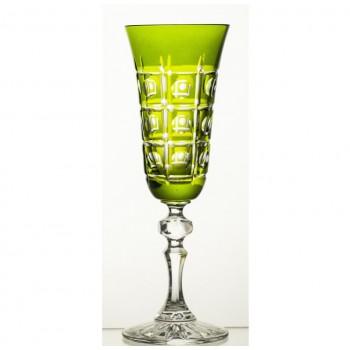 Kieliszki do szampana- zielone