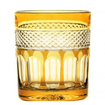 Szklanki bursztynowe  do whisky