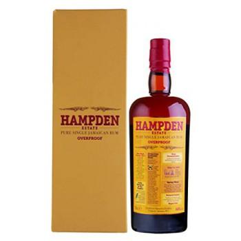 Hampden Estate Pure Single Jamaican Rum OVERPROOF