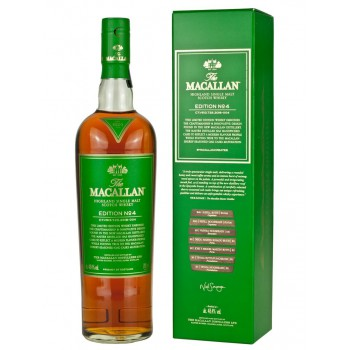 The Macallan EDITION NO° 4 Highland Single Malt Scotch Whisky