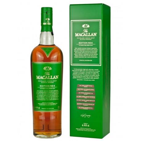 The Macallan EDITION NO° 4 Highland Single Malt Scotch Whisky