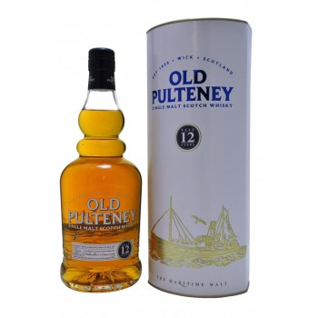Old Pulteney 12 YO w tubie 0,7L