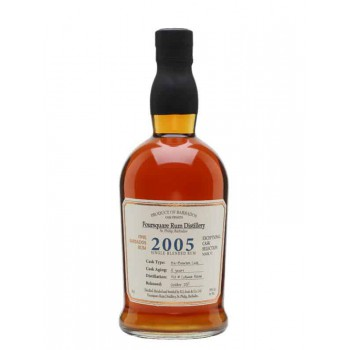 Foursquare Cask Selection Vintage 2005 12YO