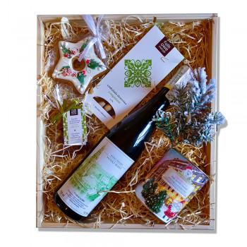 Zestaw upominkowy z winem lubuskim