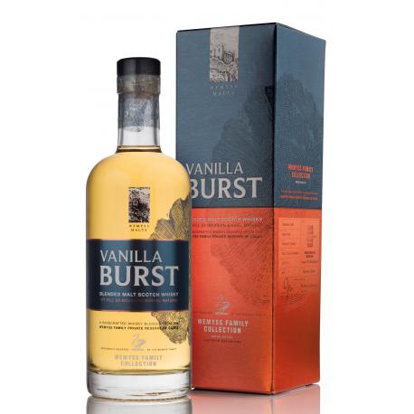 WEMYSS MALTS Vanilla Burst First-Fill Bourbon Barrels Speyside Blended Malt