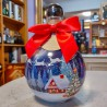 Wódka świąteczna bombka- czerwona 2019