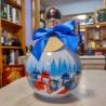 Wódka świąteczna bombka- niebieska 2019