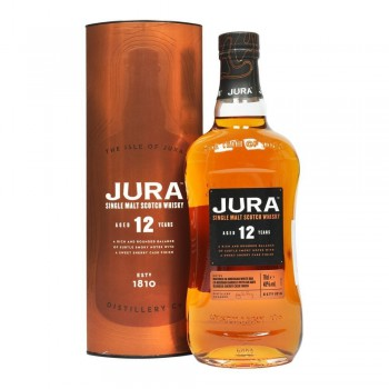 Jura 12 YO Single Malt Scotch Whisky
