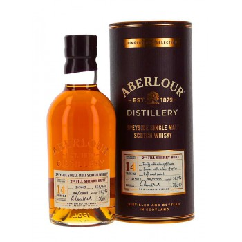 ABERLOUR 14 yo 2nd fill sherry but 58,7%