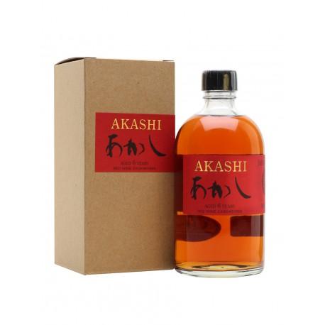 AKASHI 6Y RED WINE SINGLE MALT 50%
