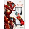 Johnnie Walker Red Label 0,7l + 2 szklanki