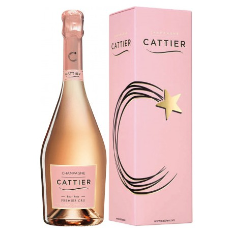 CATTIER BRUT ROSE CRU 750 ml KARTON