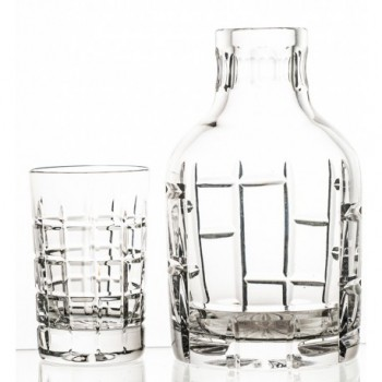 Komplet karafka i szklanka