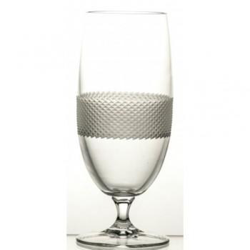 Pokale kieliszki do piwa kryształowe 6 sztuk Satine