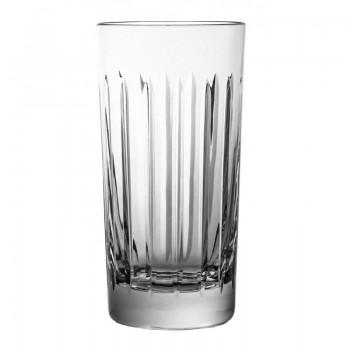 Szklanki kryształowe long drink VERTIGO 6 sztuk