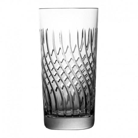 Kryształowe szklanki long drink 6 sztuk Linea