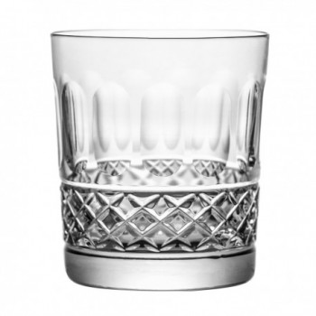 Szklanki kryształowe do whisky 6 sztuk
