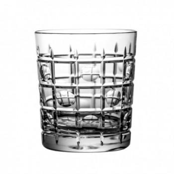 Szklanki kryształowe do whisky drink 6 szt