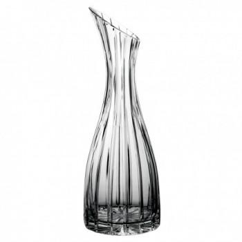 Karafka kryształowa do wina 1 litr Vertigo